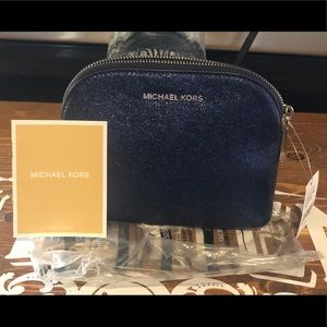 Michael Kors pouches and clutches, midnight blue